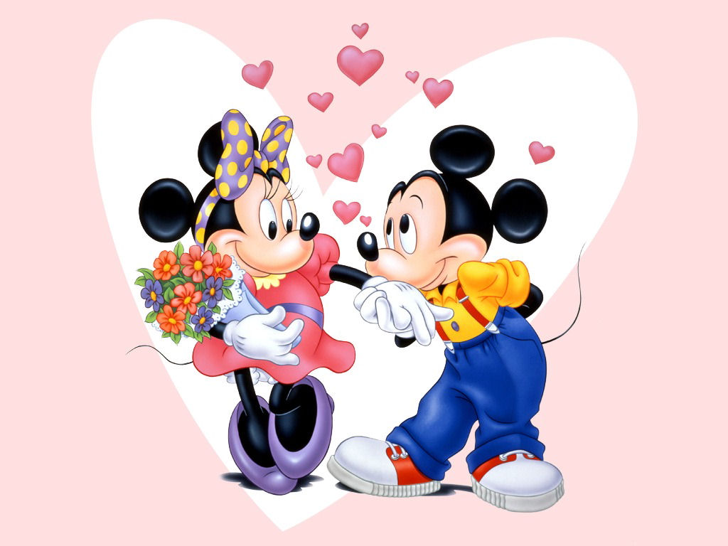 Minnie Mouse-and-mickey-mouse-wallpaper