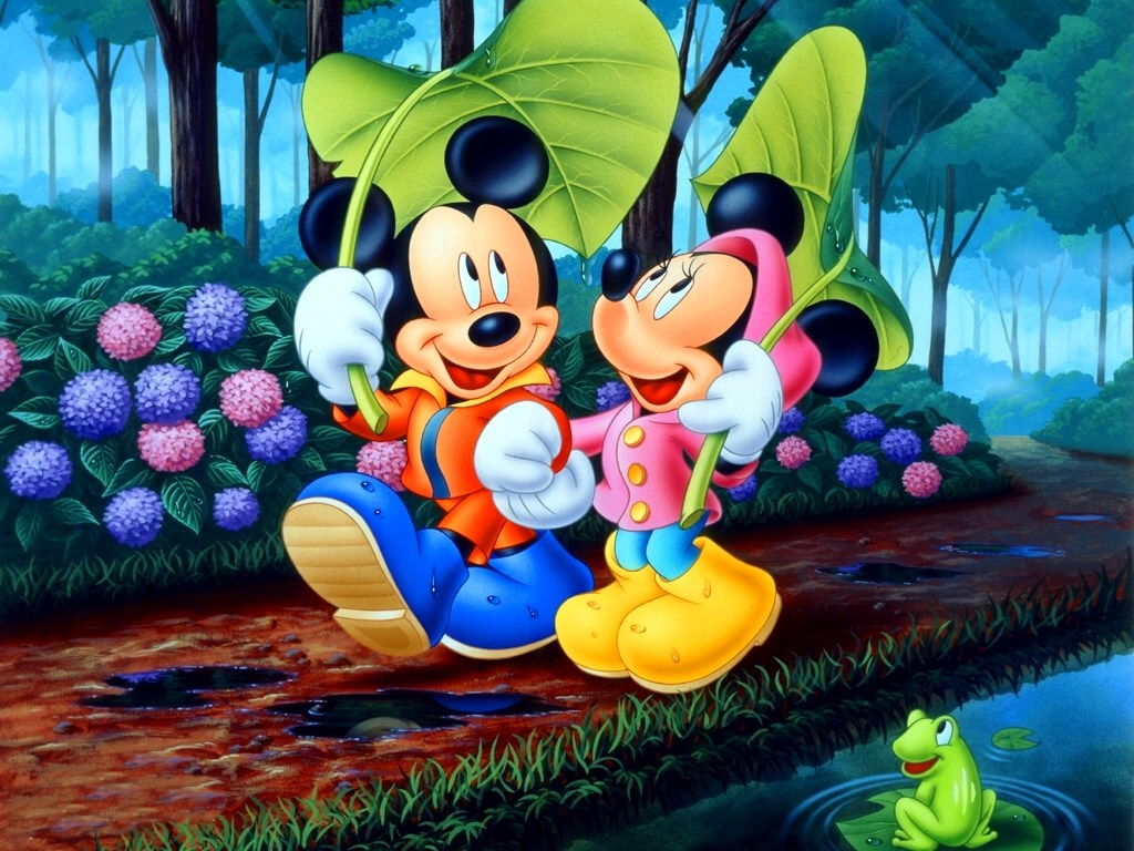 Minnie Mouse-and-mickey-mouse