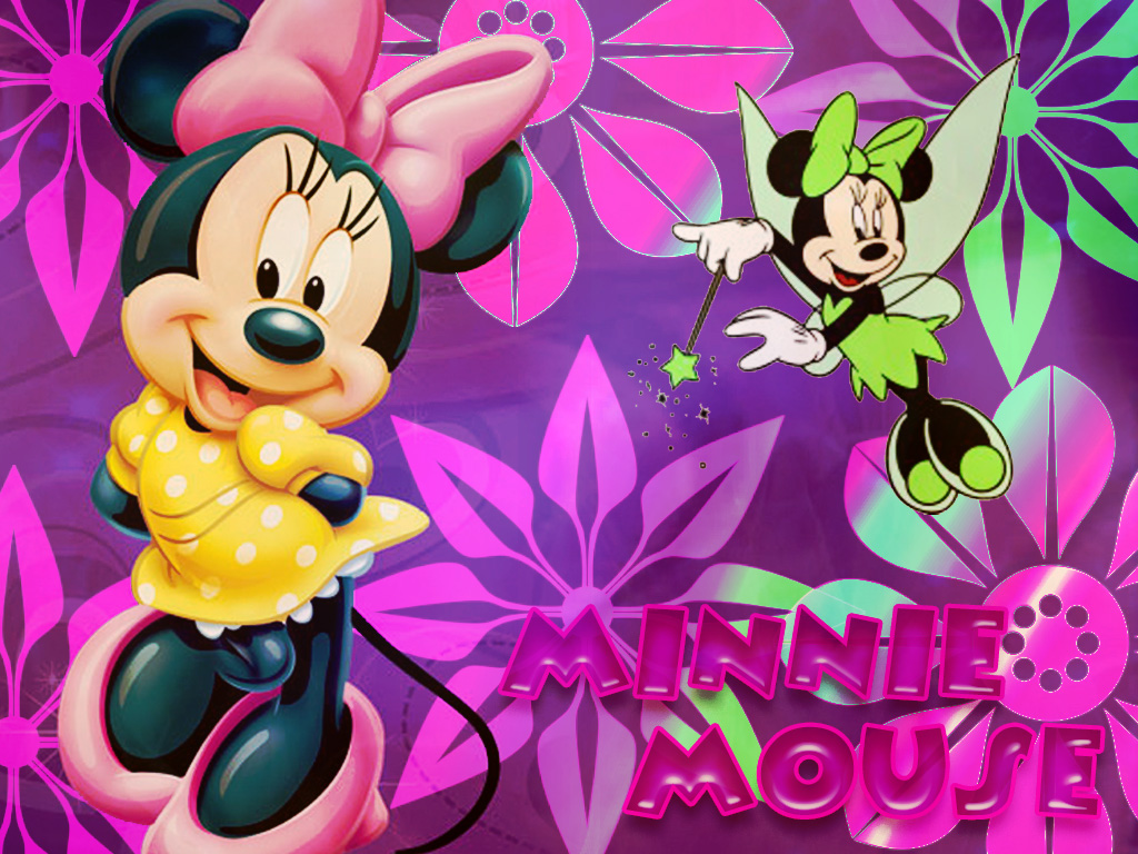 Minnie Mouse 1024x768