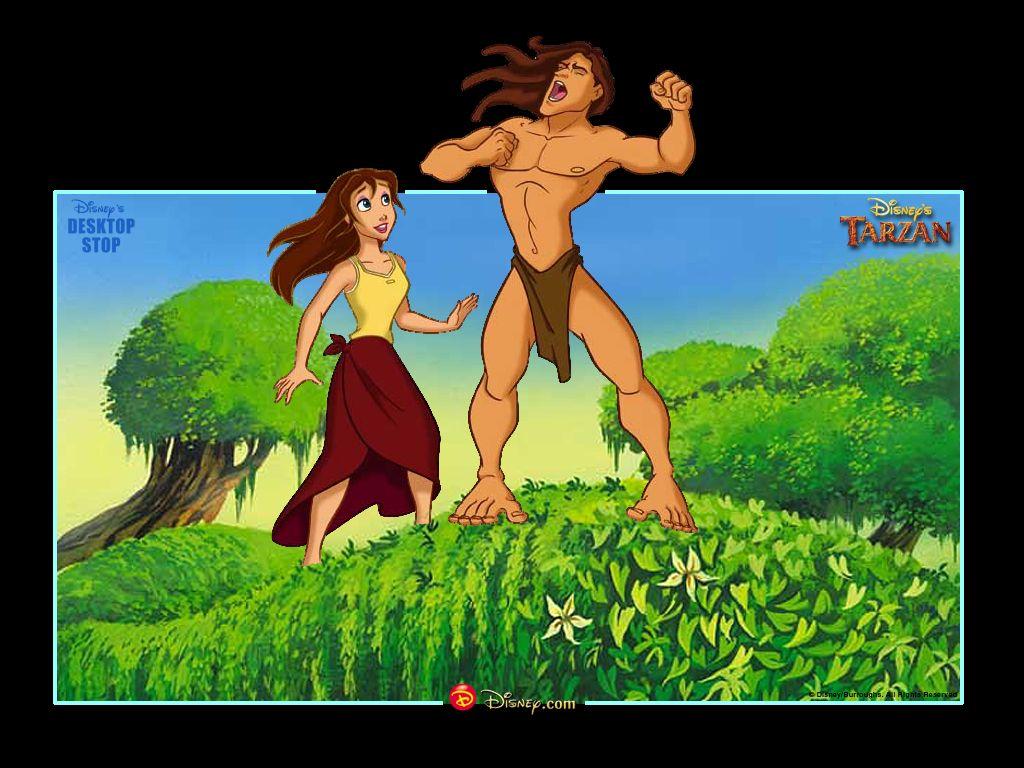 marvin eley: Jane talks with Tarzan
