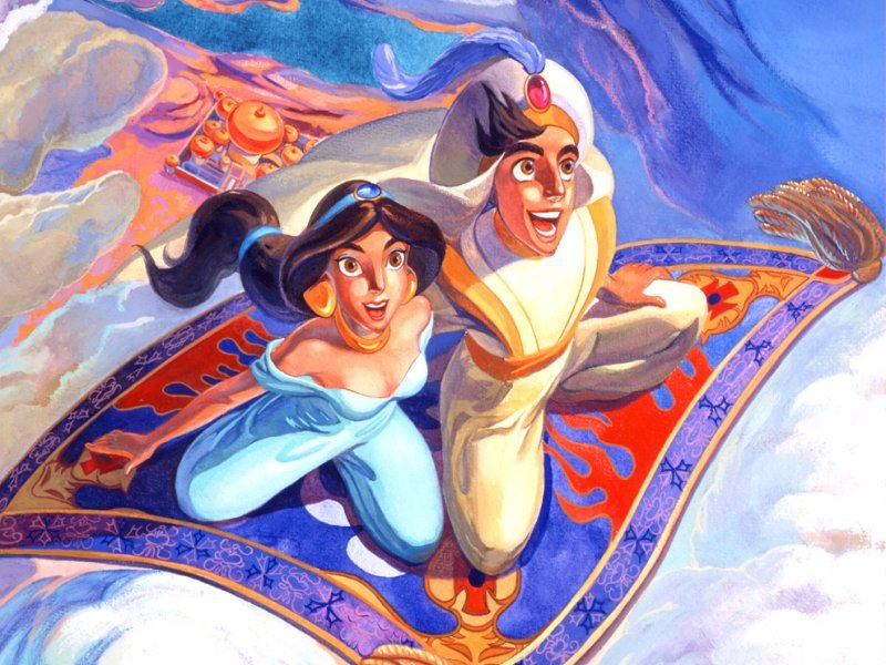 Aladdin and the King of Thieves Cartoon Disney