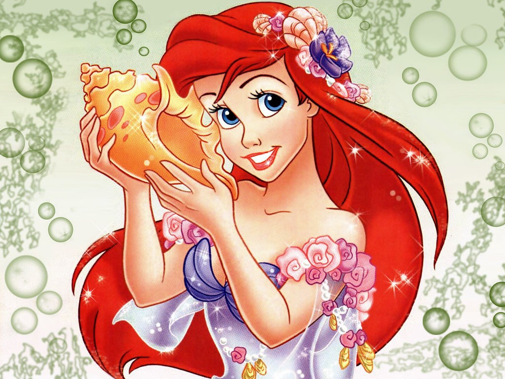 Ariel WallPaper the little mermaid desktop