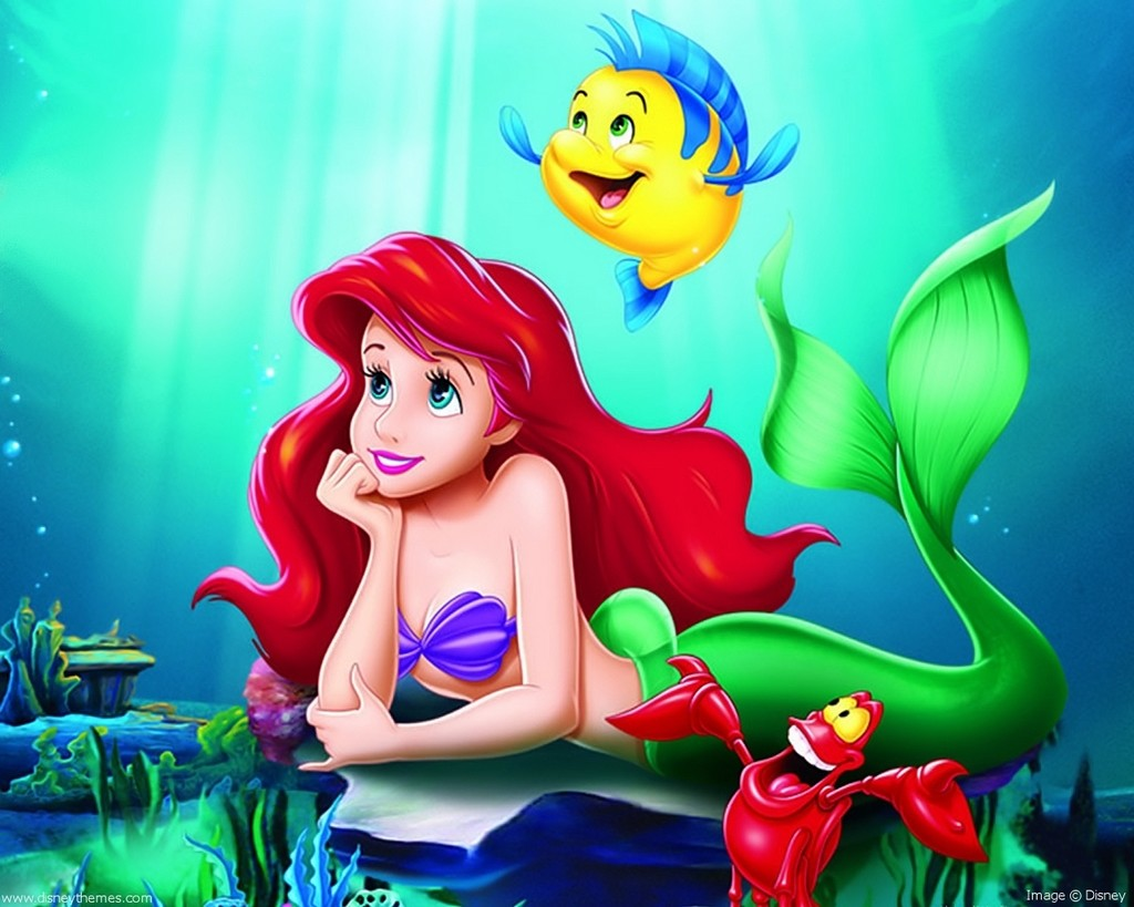 ariel the little mermaid sea