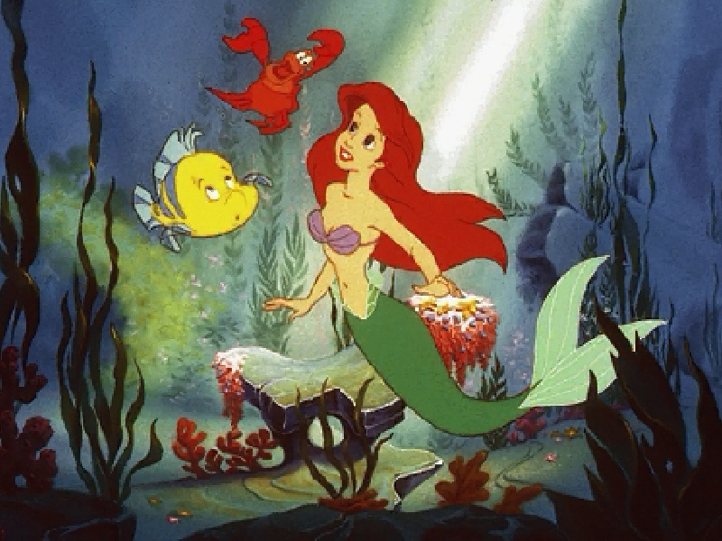 free Little mermaid photo or wallpaper