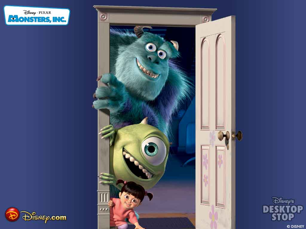 monsters inc 1024x768