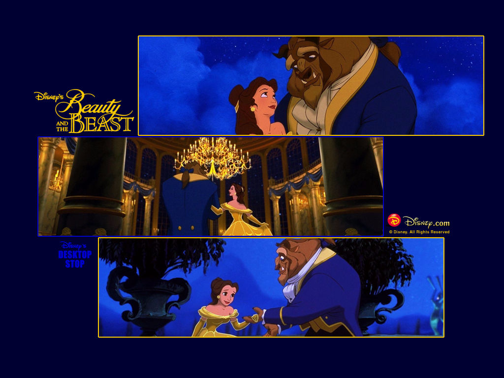 Beauty And The Beast Desktop Wallpaper Beauty And The Beast