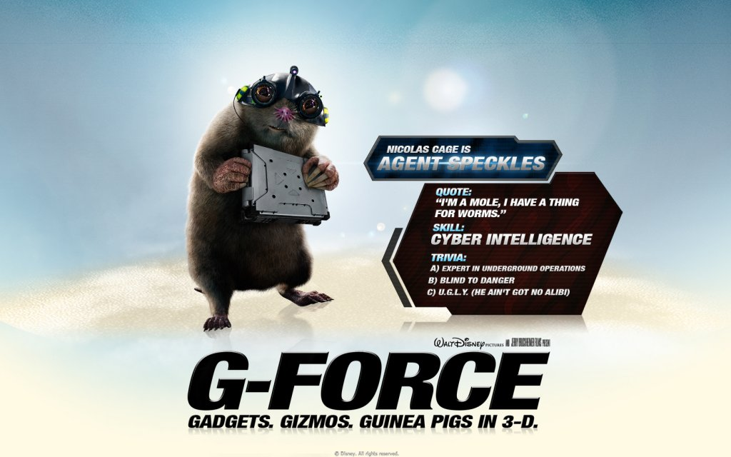 G-Force Speckles