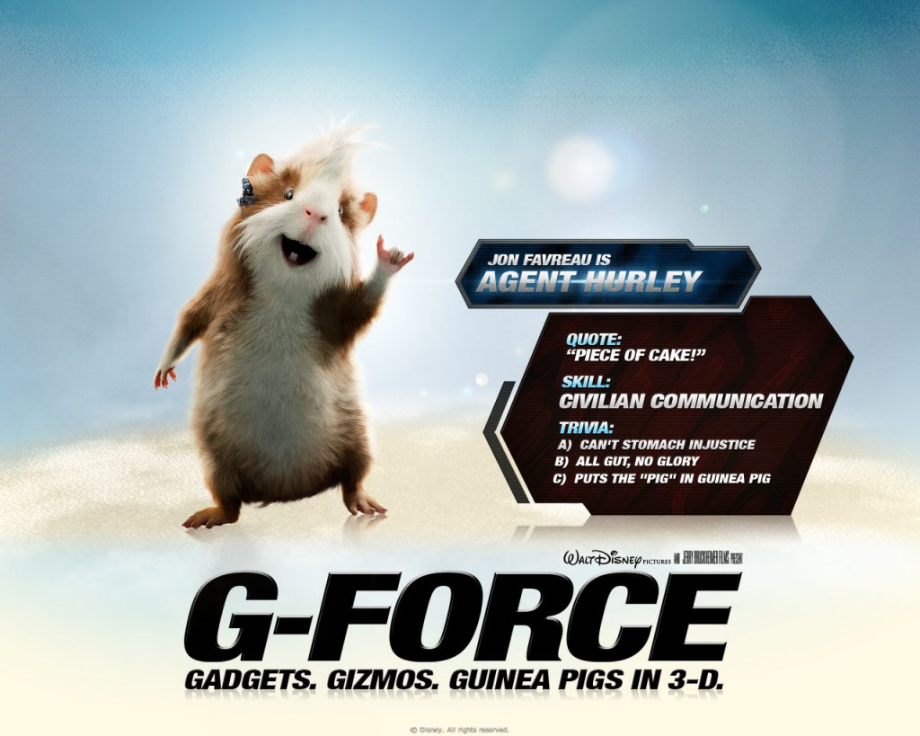 g force-agent-hurley