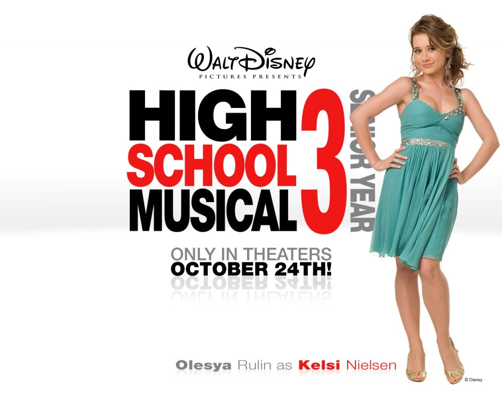 Disney-Wallpaper-Olesya Rulin High School Musical 3 Wallpaper 1280x1024