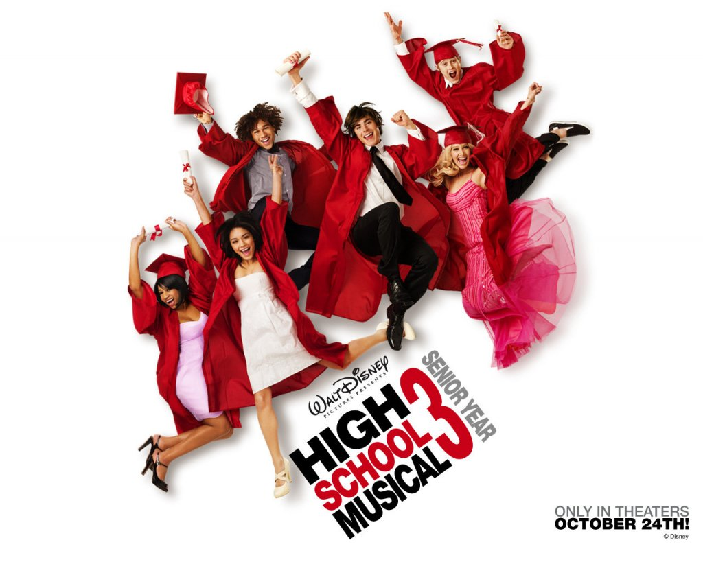 Disney-Wallpaper-high school musical 3 senior year