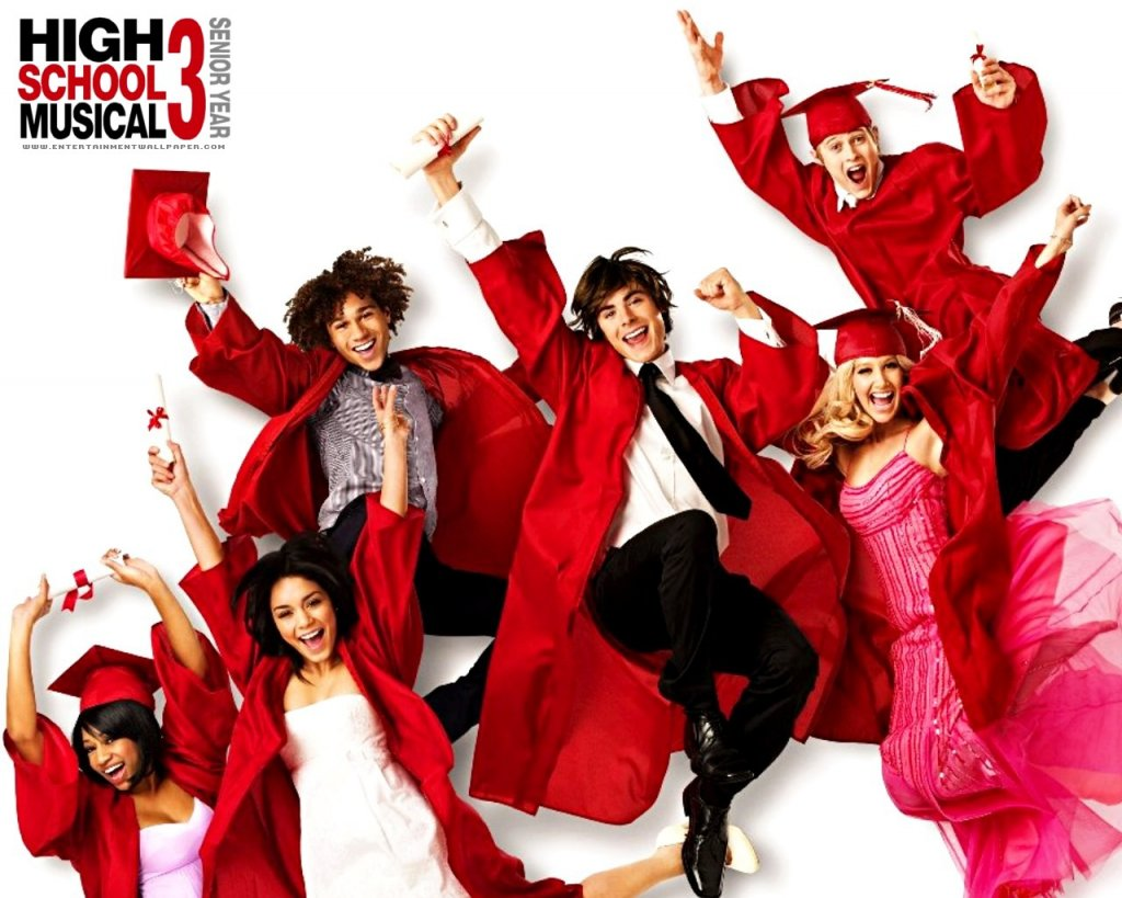 Disney-Wallpaper-high school musical 3 wallpaper