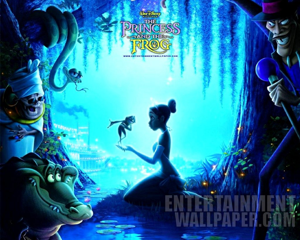 Disney-Wallpaper-the princess and the frog desktop