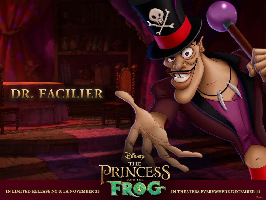 Disney-Wallpaper-the princess and the frog dr facilier