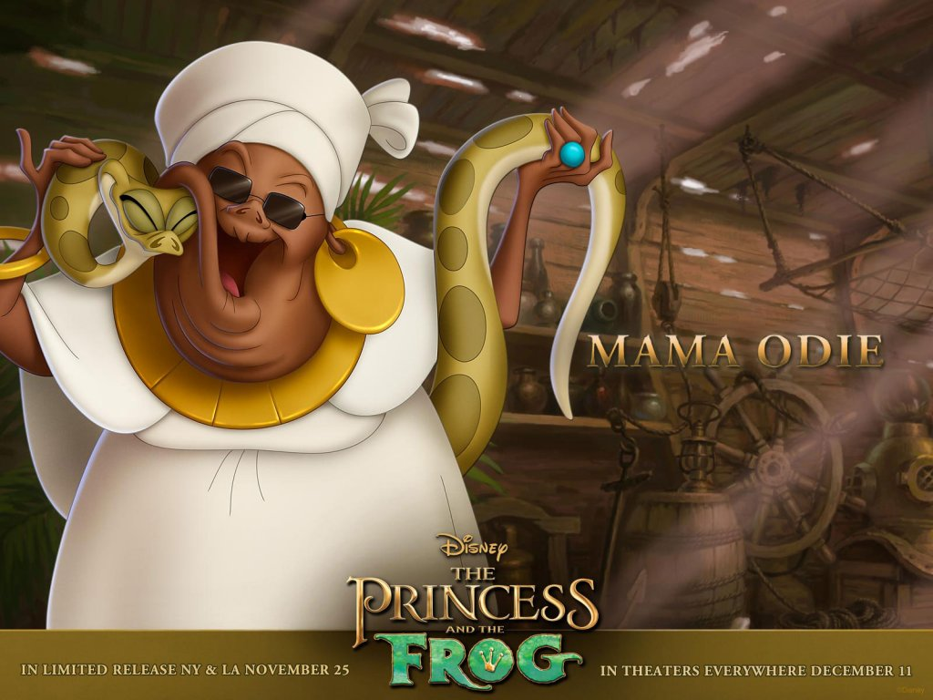 Disney-Wallpaper-the princess and the frog mama odie
