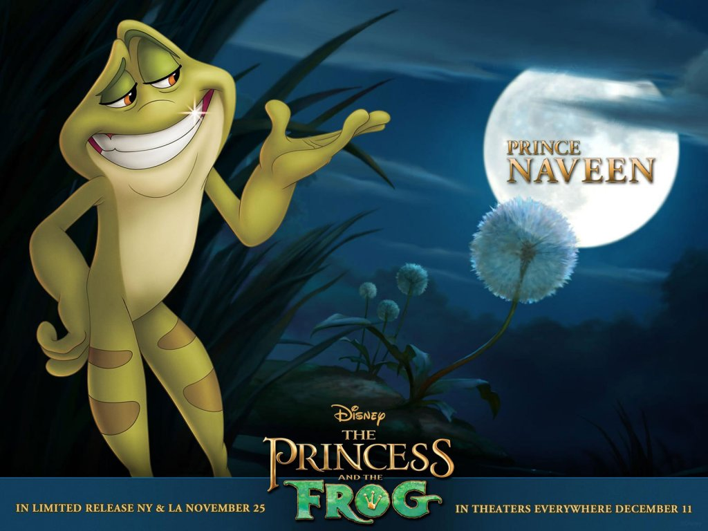 Disney-Wallpaper-the princess and the frog prince naveen