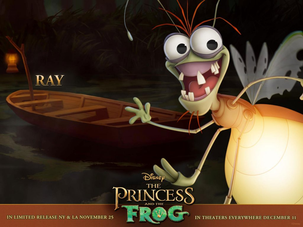 Disney-Wallpaper-the princess and the frog ray