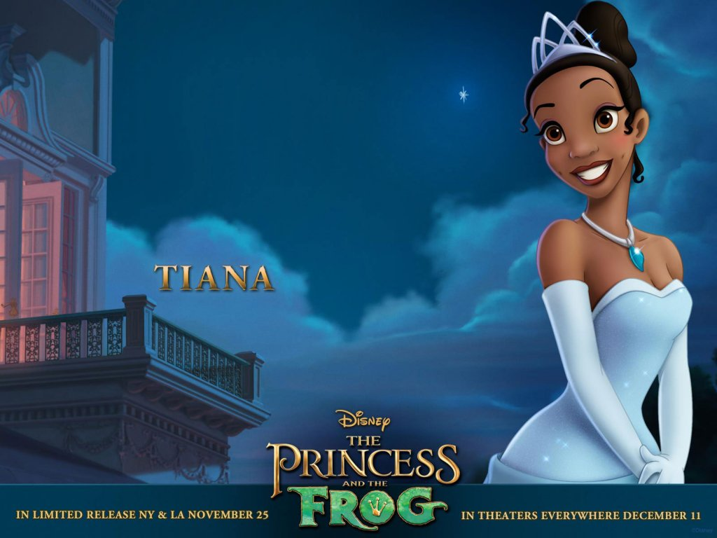 Disney-Wallpaper-the princess and the frog tiana