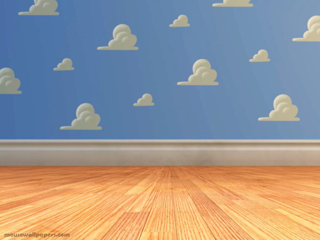 Toy story 3 andys room postcard toy story 3 andys room for The room wallpaper