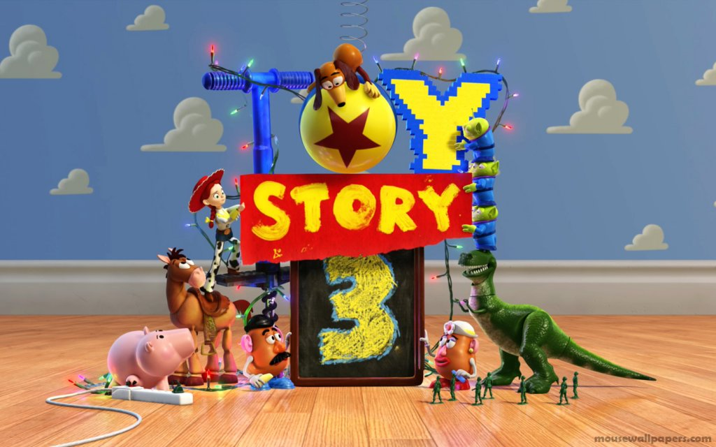 wallpaper toy story. toy-story-3-woodys-widescreen-