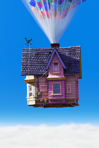 Disney-Wallpaper-up-carls-house-closer-with-balloons-iphone
