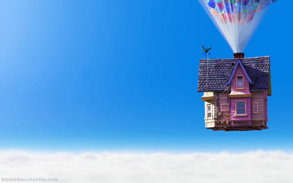 Disney-Wallpaper-up-carls-house-closer-with-balloons-widescreen