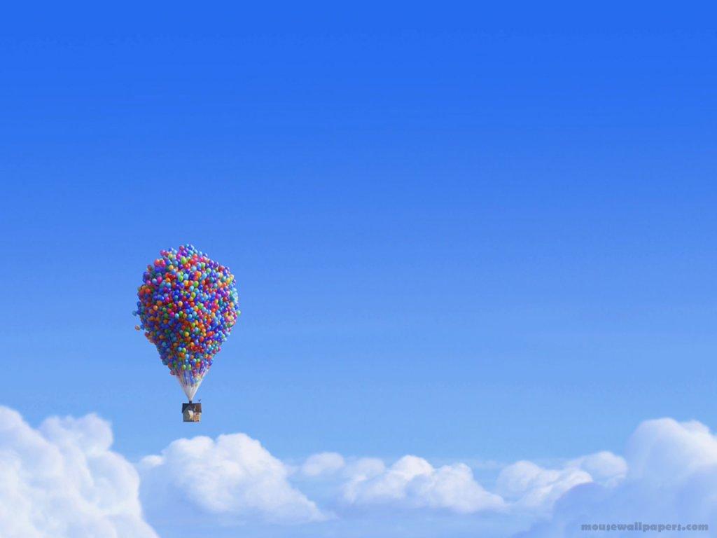 DisneyWallpaperuphouseballonsnormal wallpaper Disney