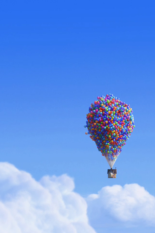 Disney-Wallpaper-up-house-balloons-iphone
