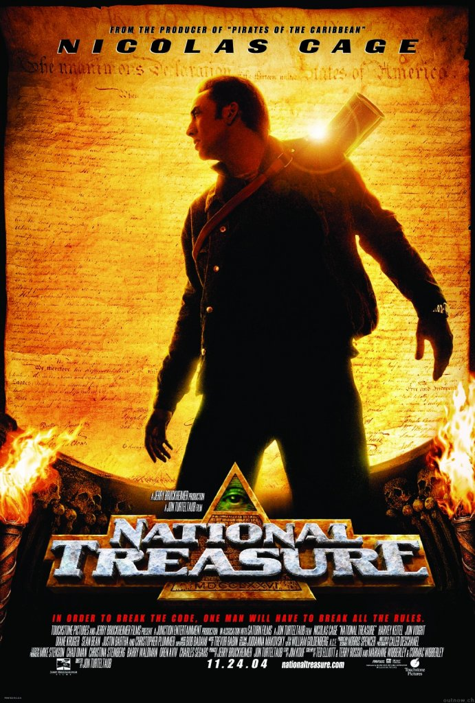 Disney wallpaper National-treasure poster