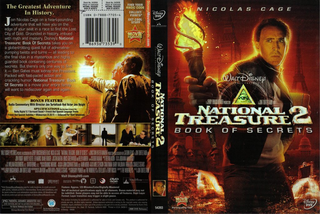 Disney-Wallpaper-National Treasure 2-Book Of Secrets