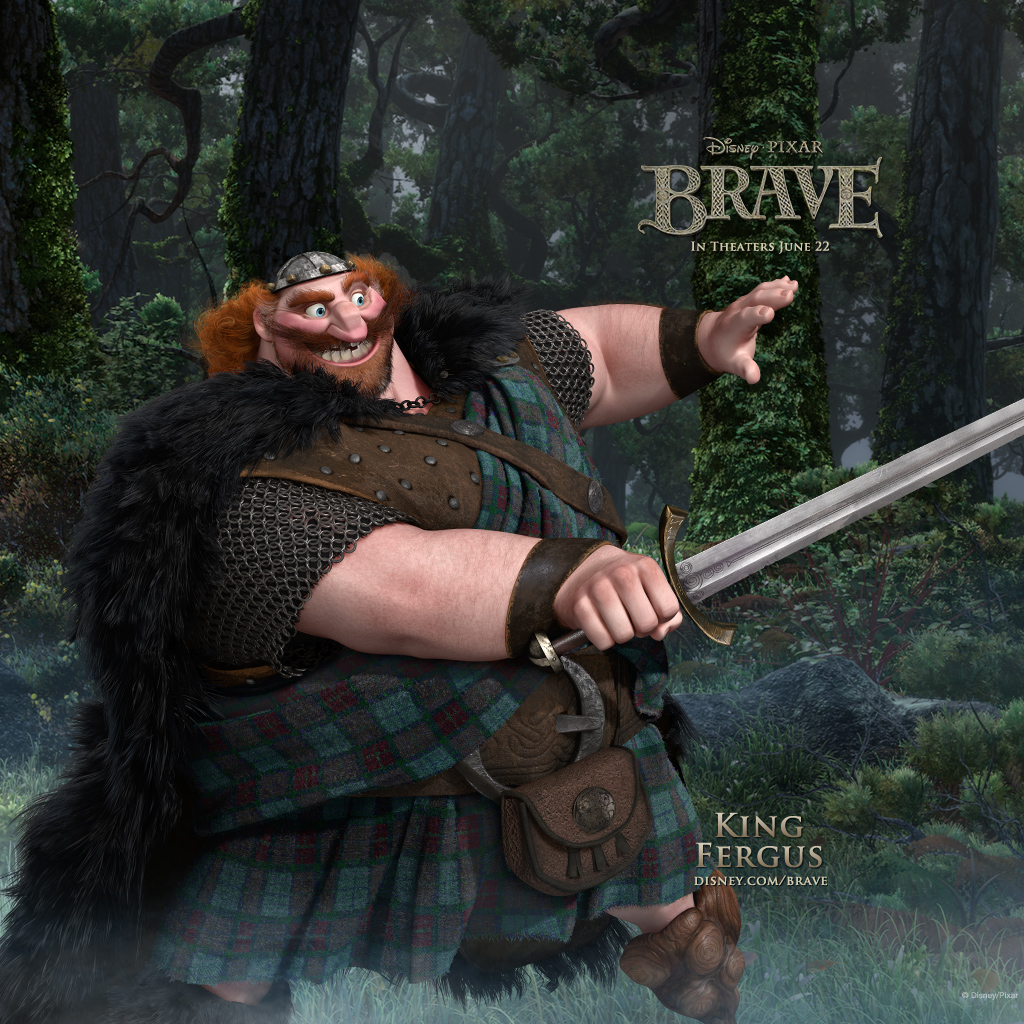 Disney wallpaper iPad King Fergus
