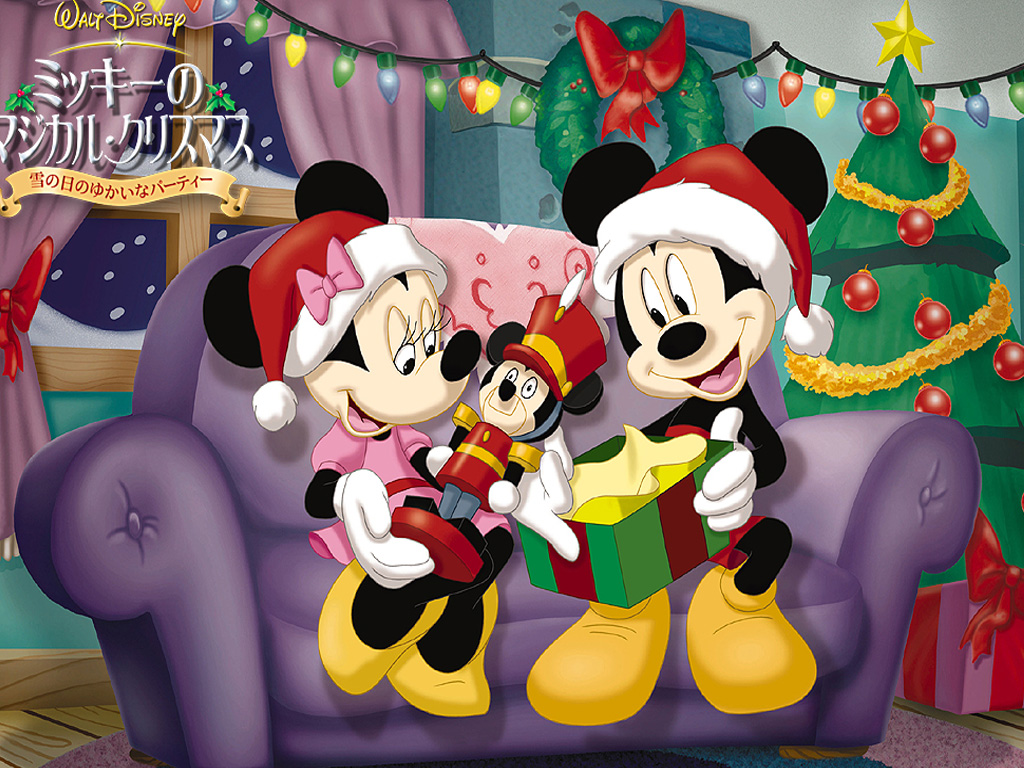 disney wallpaper christmas happy new year