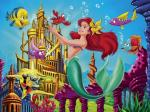 Ariel The Little Mermaid Wallpaper disney princess