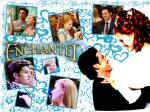 Disney wallpaper Robert-and-Giselle-enchanted-1024-768